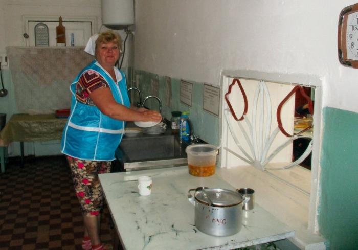 Wasseranschluss Schulküche